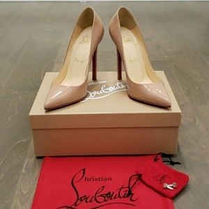 100% Authentic!! Christian Louboutin Pigalle 120mm